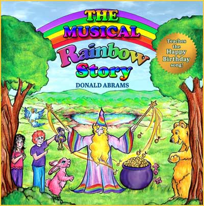 The Musical Rainbow Story - Front Cover